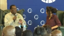Zimbabwe President Challenges Youth To Push His Administration For Change They Want