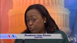 Senatè Dieudonne L. Etienne Anfavè Ranfòsman Leadership Fanm Onivo 3 Pouvwa yo