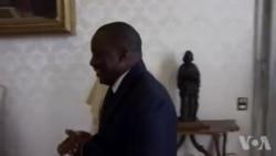 Joseph Kabila reçu par le pape François (vidéo)