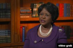 FILE - African Union Ambassador to the U.S. Arikana Chihombori-Quao