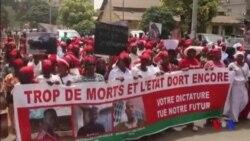 Dernière manifestation de l'opposition avant une pause d'une semaine en Guinée (vidéo)