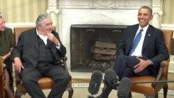 José Mujica se reune con el presidente Barack Obama