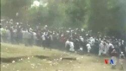 2016-10-03 美國之音視頻新聞: 埃塞俄比亞發生踩踏52人喪生