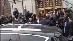 Trump'ın Eski Avukatı Cohen Mahkemeden Çıktı