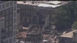 2013-06-06 美國之音視頻新聞: 美國費城拆樓時發生事故六人死亡