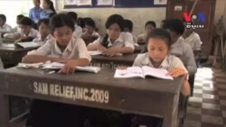 Cambodians Hopeful Obama Visit Will Boost Education for Girls