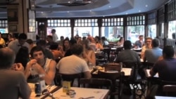 In Ipanema Brazilians Pour into Bars to Watch World Cup