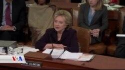 کلنتن لەبەردەم کۆنگرێس ئامادە بوو بۆ وەڵامی پرسیارەکان لەسەر ڕووداوەکەی بنغازی لە ساڵی 2012