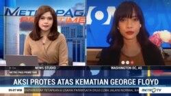 Laporan Langsung VOA untuk MetroTV: Aksi Protes dan Kerusuhan Terus Berlanjut di AS