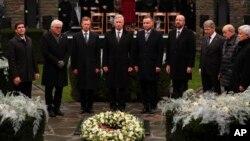 Представители государств мира отмечают 75-ю годовщину Арденнской операции. Бастонь, Бельгия. 16 декабря 2019 г.