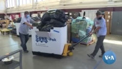 Aid to Afghans on US Bases Pours In