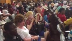 Vanorarama Nehusope Vowana Rubatsiro Kubva KuCBZ ne Albinism Alive Initiative