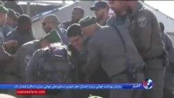 تخریب چند ساختمان در کرانه باختری رود اردن توسط ارتش اسرائیل و اعتراض یهودیان جوان