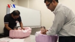 Japanese Men Take Lessons on How to be a Good Husband