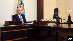 Sanctions américaines contre des proches de Vladimir Poutine