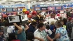 Amerika'da Alışveriş Çılgınlığı
