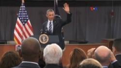 Obama prohíbe equipo militar en manos de policías