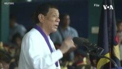菲律賓終止軍事合約 特朗普淡然以對 (粵語)