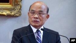 Perdana Menteri Taiwan Su Tseng-chang