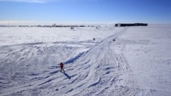 At Work at the South Pole