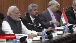 Lãnh đạo VN 'ca ngợi' quan điểm của Ấn Độ về biển Đông