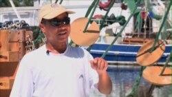 Ngư dân gốc Việt bám trụ với nghề đánh tôm ở Mỹ