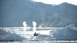ေရခဲေတာင္ႀကီးေတြ အရည္ေပ်ာ္ေနတဲ့ Greenland