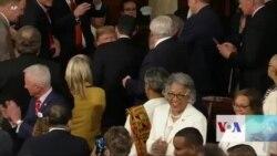 ترمپ سومین خطابۀ سالانه اش به کانگرس را ایراد میکند