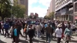 Zanu PF supporters March in Harare