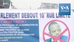 "Manifestations en RDC: ""Non à Malonda"""