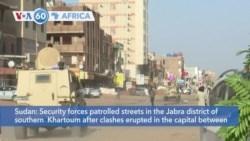 VOA60 Africa - Clashes erupt in Sudan between security forces and alleged militants