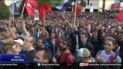 Prishtinë, protestë kundër ndryshimit të kufijve