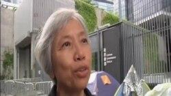 香港立法會外留守抗議者準備政改方案否決後撤離