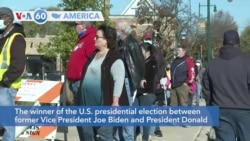 VOA60 Ameerikaa - The winner of the election between former Vice President Biden and President Trump remained in doubt