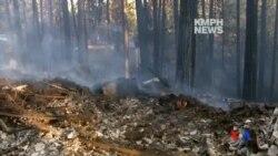 2014-09-16 美國之音視頻新聞: 加州山火迫使千人逃離家園