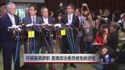 香港亲中议员吁梁振英辞职被逐出政协