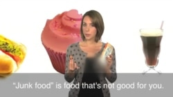 English in a Minute: Junk Food