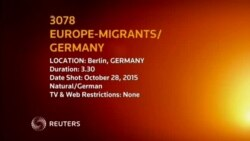 Europe Migrants Germany