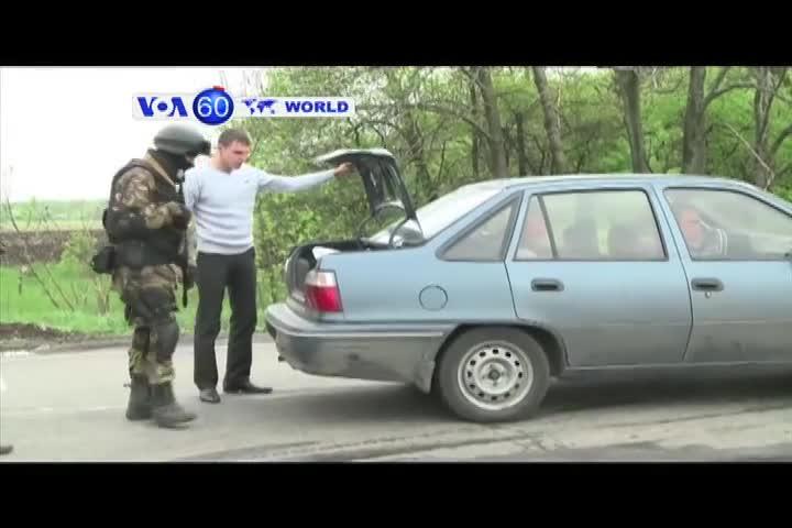 VOA60 Duniya: Ukraine, Afrilu 29, 2014