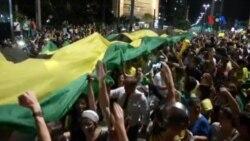 Người biểu tình phản đối quyết định bổ nhiệm cựu tổng thống Brazil