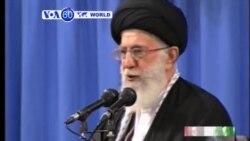 VOA60 DUNIYA: Ayatollah Khamane Yace Babu Yarjejeniyar Nukiliya, Afrilu 9, 2015