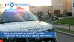 VOA60 Ameerikaa - Nine people wounded in Rhode Island's capital, Providence