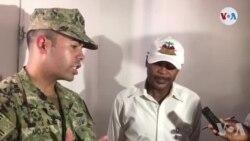 Asistans Ofis, César R. Mojica, Ap Bay Detay sou Misyon USNS Comfort la ann Ayiti