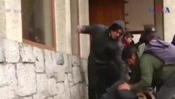 چلی: پادری پر تشدد اور پولیس کی کارروائی