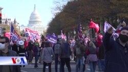Thủ đô Washington DC 'sôi sục' hậu bầu cử Mỹ