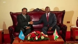 Urugendo rwa Perezida wa Somaliya mu Burundi