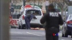 2018-02-24 美國之音視頻新聞: 一名女子開車撞上白宮週邊柵欄