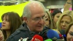 委內瑞拉反對派領袖逃離軟禁抵達西班牙