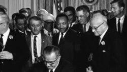 Споменикот на Мартин Лутер Кинг-сведок за борбата за човекови права
