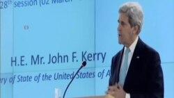 克里:聯合國人權機構對以色列過於關注